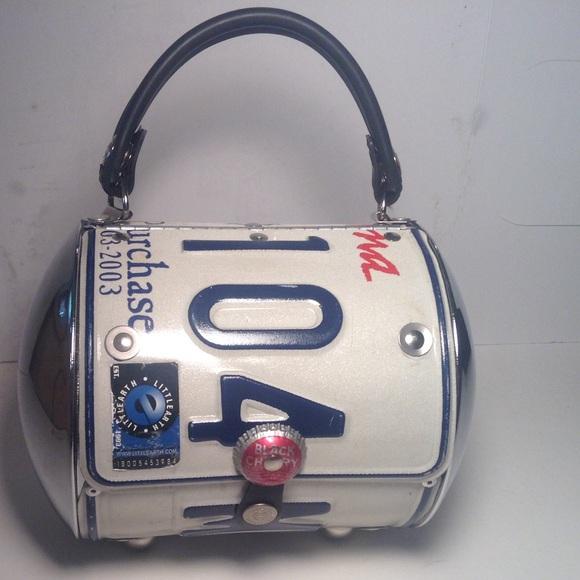 e9fbb45743de Bags   Little Earth License Plate Purse   Poshmark